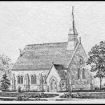 Stone Chapel Drawing 1872